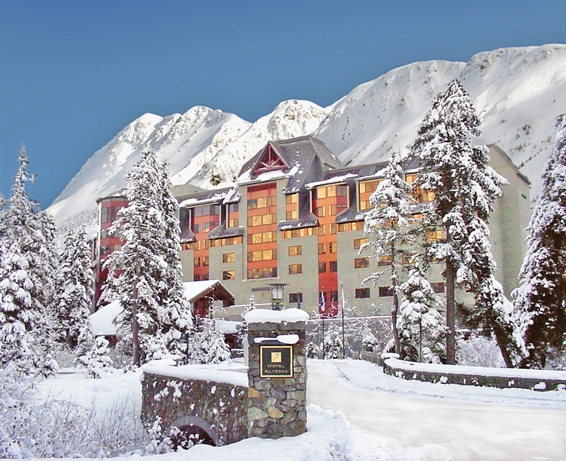 there's no time like snow time at alyeska resort - ak on the go